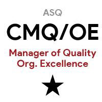 ASQ CMQ/OE Certified Manager of Quality/Organizational Excellence