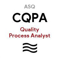 ASQ CQPA Certified Process Analytst