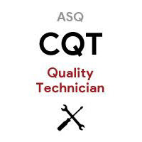 ASQ CQT Certified Quality Technician