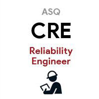 ASQ CRE Certified Reliability Engineer