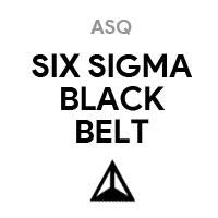ASQ SSYB Certified Six Sigma Black Belt
